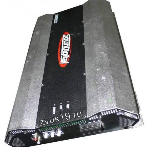 Усилитель SounDigital 8000.1 вид сбоку