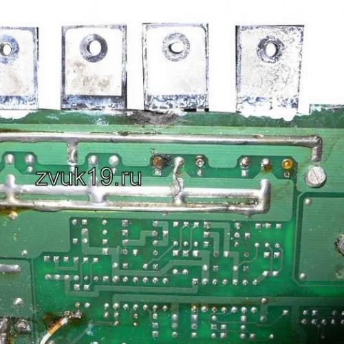 Усилитель SounDigital 8000.1 после ремонта