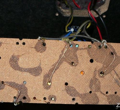 Монтаж блока фильтров СЧ и ВЧ