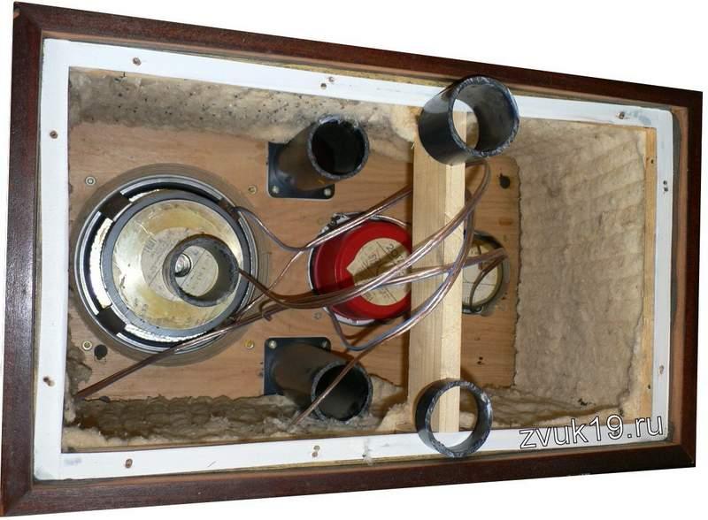 Колонки с фазоинвертором